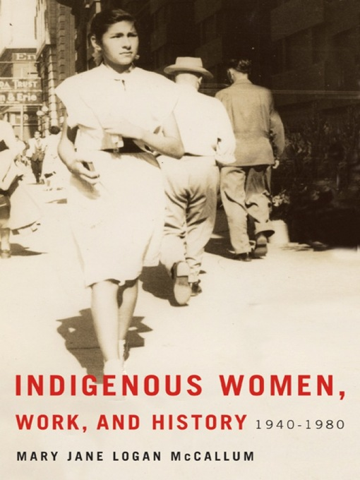 Cover of Indigenous Women, Work, and History